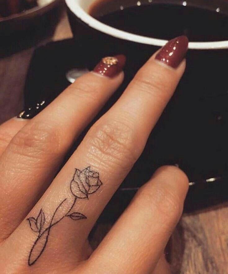 Finger Tattoos for Women - Wormhole Tattoo 丨 Tattoo Kits, Tattoo machines, Tattoo supplies