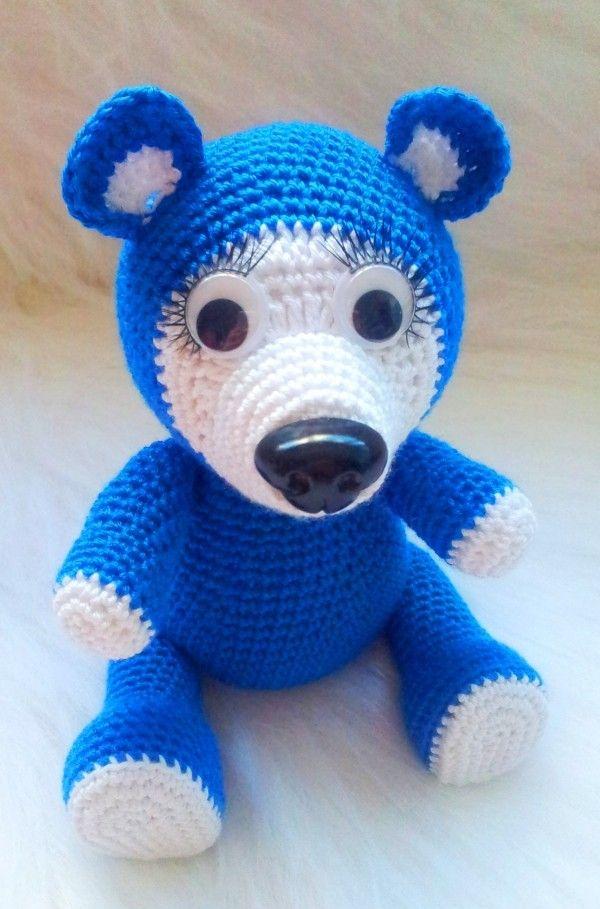 Free Crochet Bear Pattern Free Patterns Crocheted Pinterest