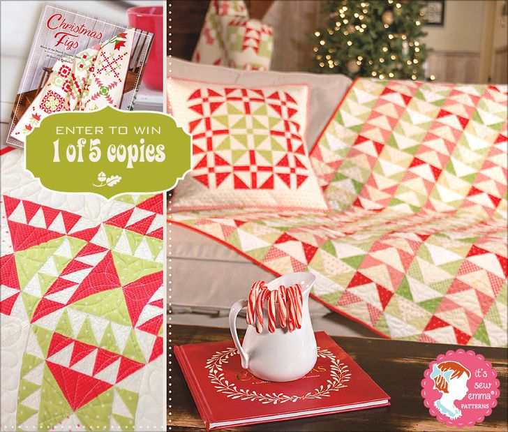 Christmas figs new book from fig tree quilts with its