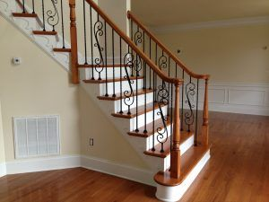 Wood Iron Railing Repair Raleigh NC Your staircase is the first impression when people enter your home, make yours the one they won't forget. Upgrading from old, dated steps, balusters, or railings will enhance the elegance of your home and can be customized to compliment any interior.  http://www.staircaseinstallationnc.com