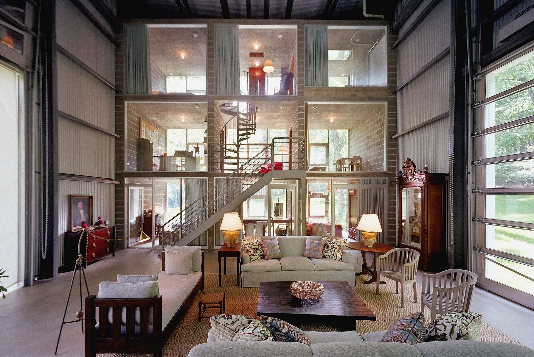 container house interior. A Completely Bizarre Home  Adam Kalkin Bunny Lane House Houses PETER AARON ARCHITECTURAL PHOTOGRAPHY Container