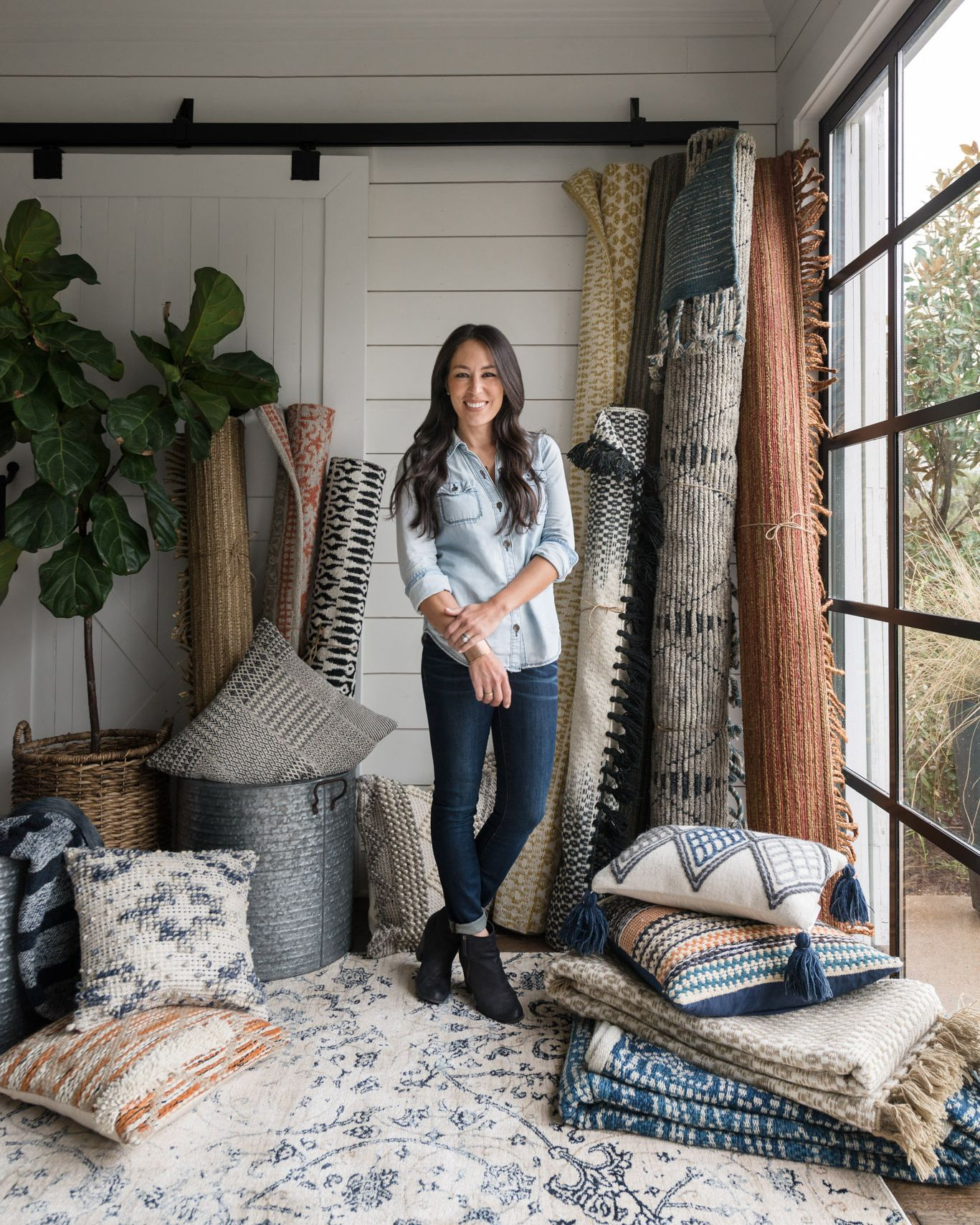 Introducing Magnolia Home By Joanna Gaines Rugs Pillows