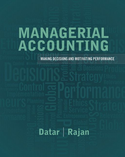 Test bank solutions for managerial accounting decision making and test bank solutions for managerial accounting decision making and motivating performance 1st edition by srikant m fandeluxe Image collections