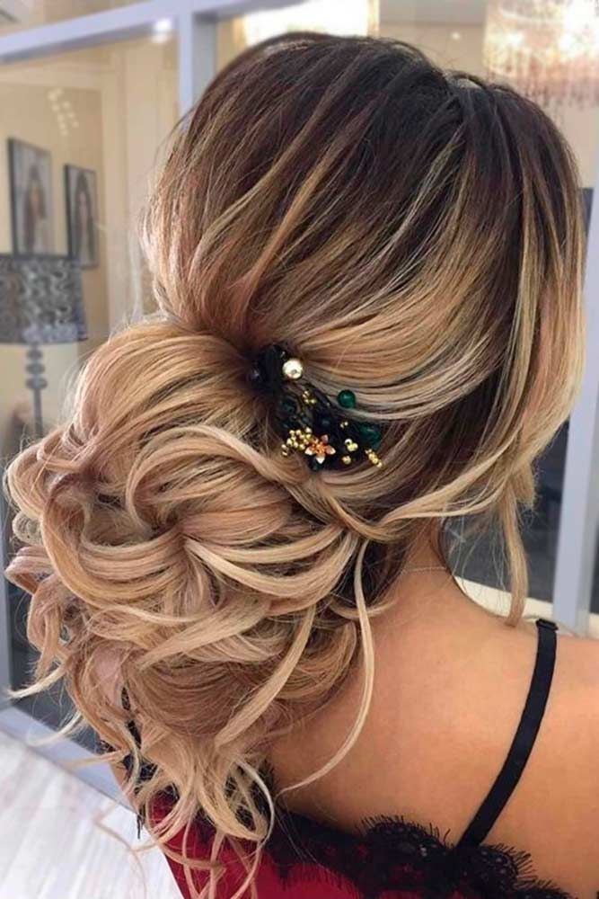 33 chic updo hairstyles for bridesmaids updo bridesmaid amazing updo hairstyles for every special wedding moment see more http pmusecretfo Choice Image