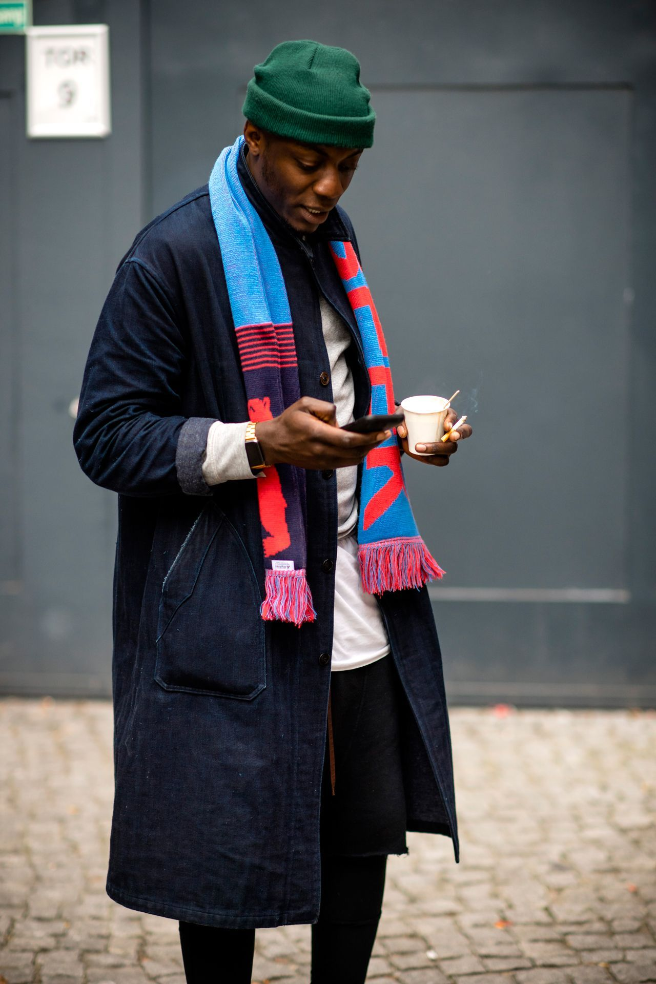 518508cb7b3 The best-dressed men on the streets of Berlin for the Autumn Winter 2017  collections
