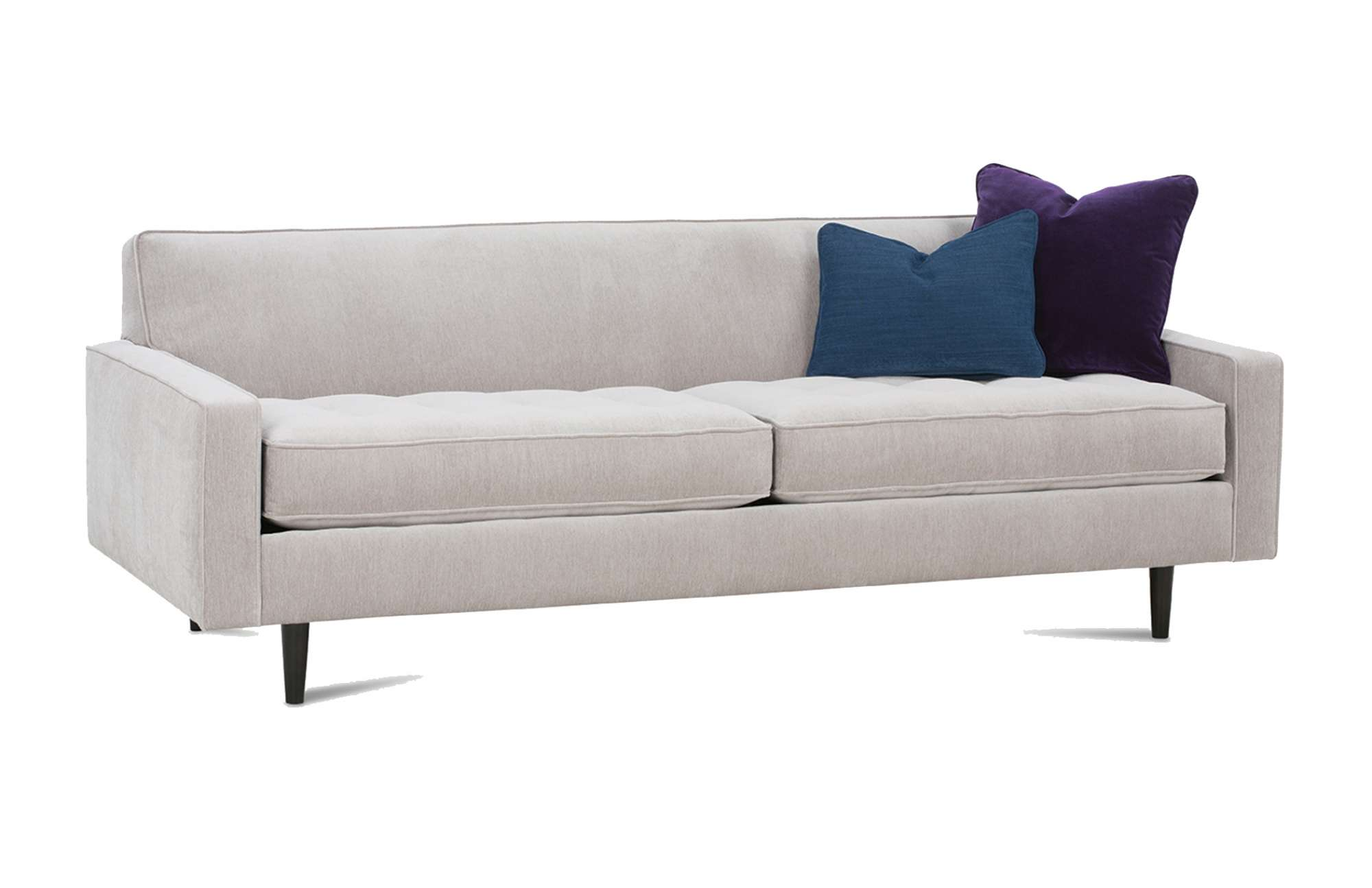 The Modern Look Of The Brady Sofa Would Be A Welcome Compliment To Any  Living Room. Add A Personal Touch To The Body, Pillows, Welts, And Finish.