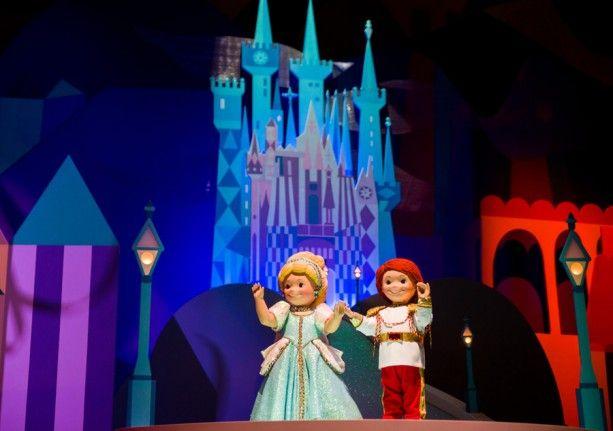 'it's a small world' Around the World: Hong Kong Disneyland