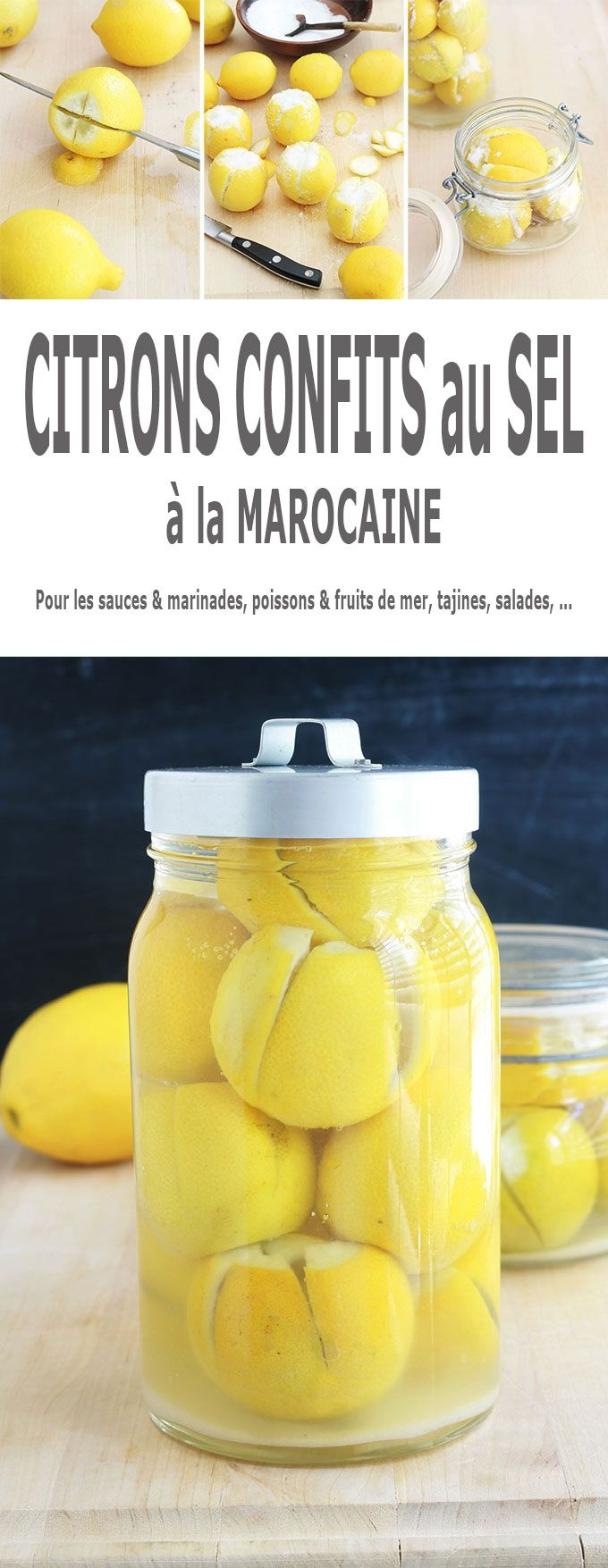 Citrons confits salés fait maison | Recette | Recette ...