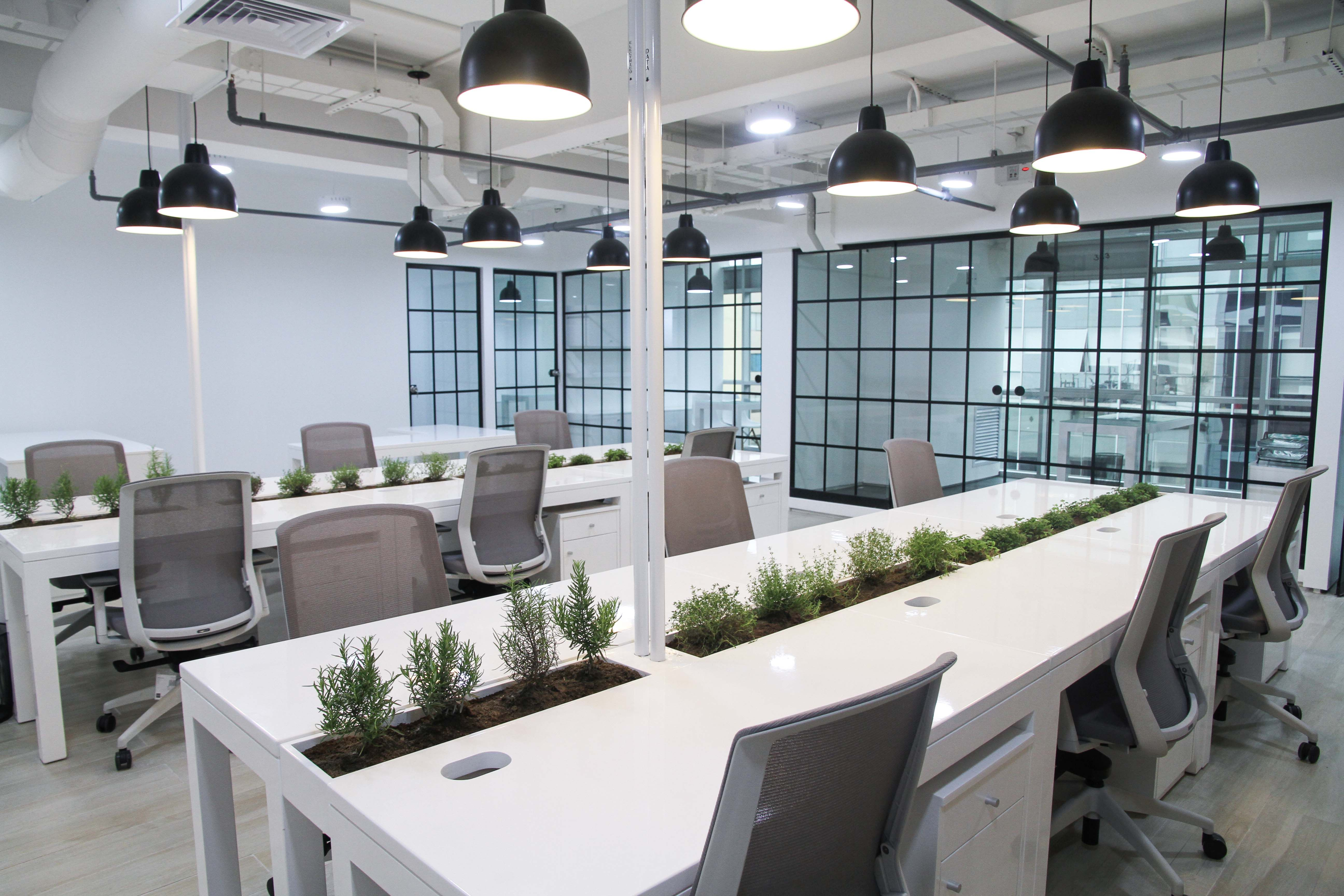 Office Design, Industrial Style.