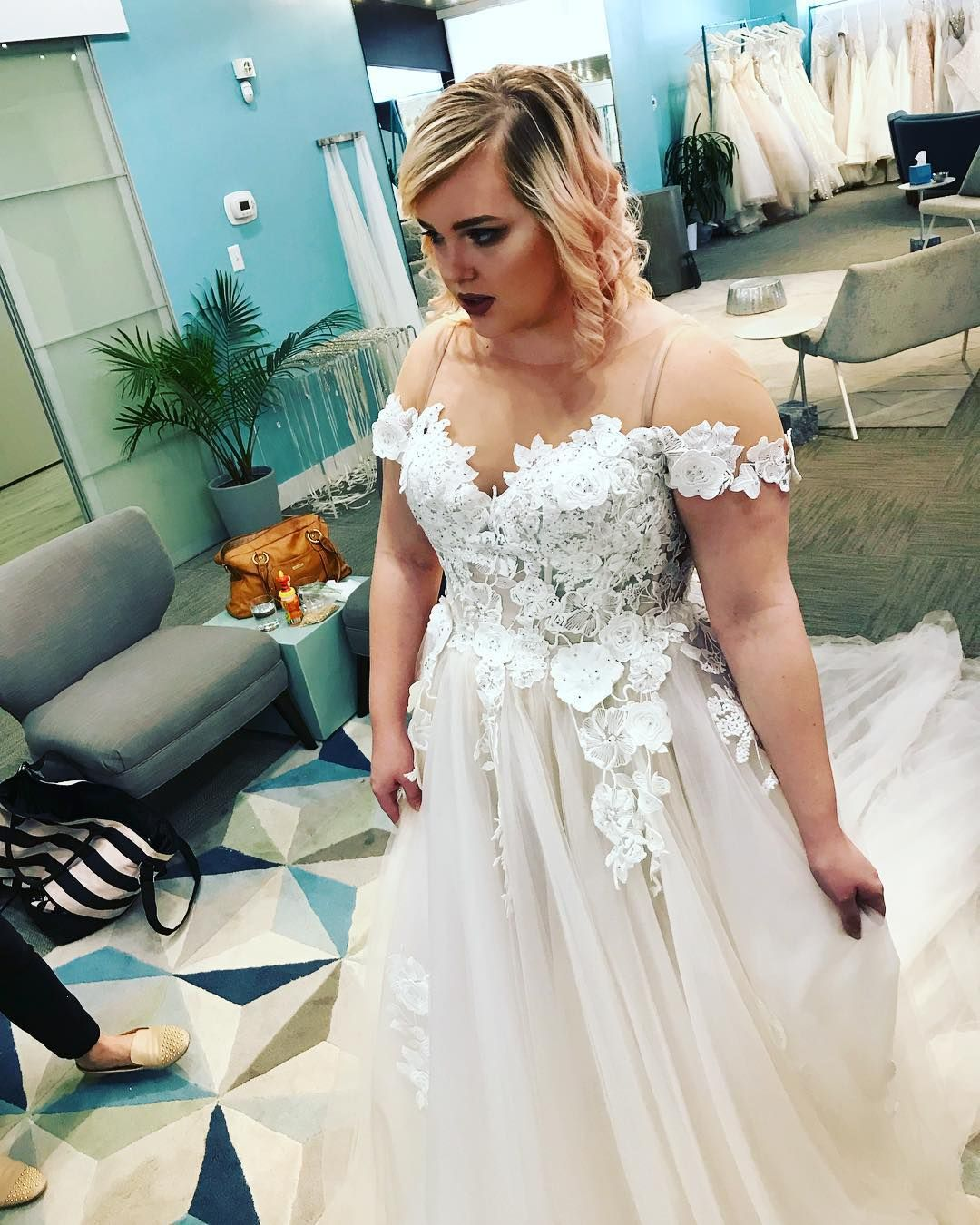 Custom plus size wedding gowns for fuller figured women by Darius ...