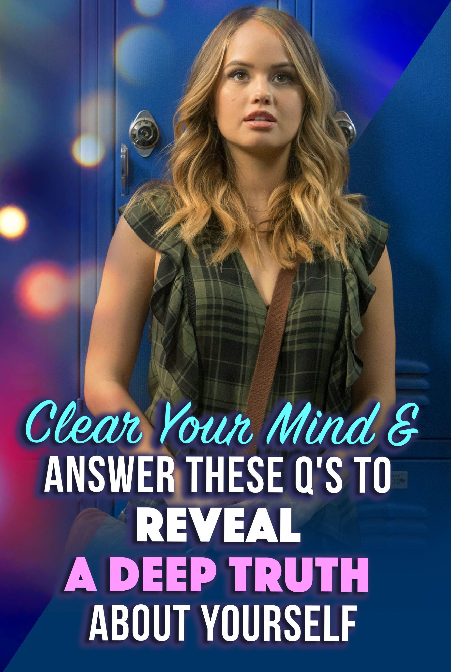 Clear Your Mind & Answer These Q's To Reveal A Deep Truth