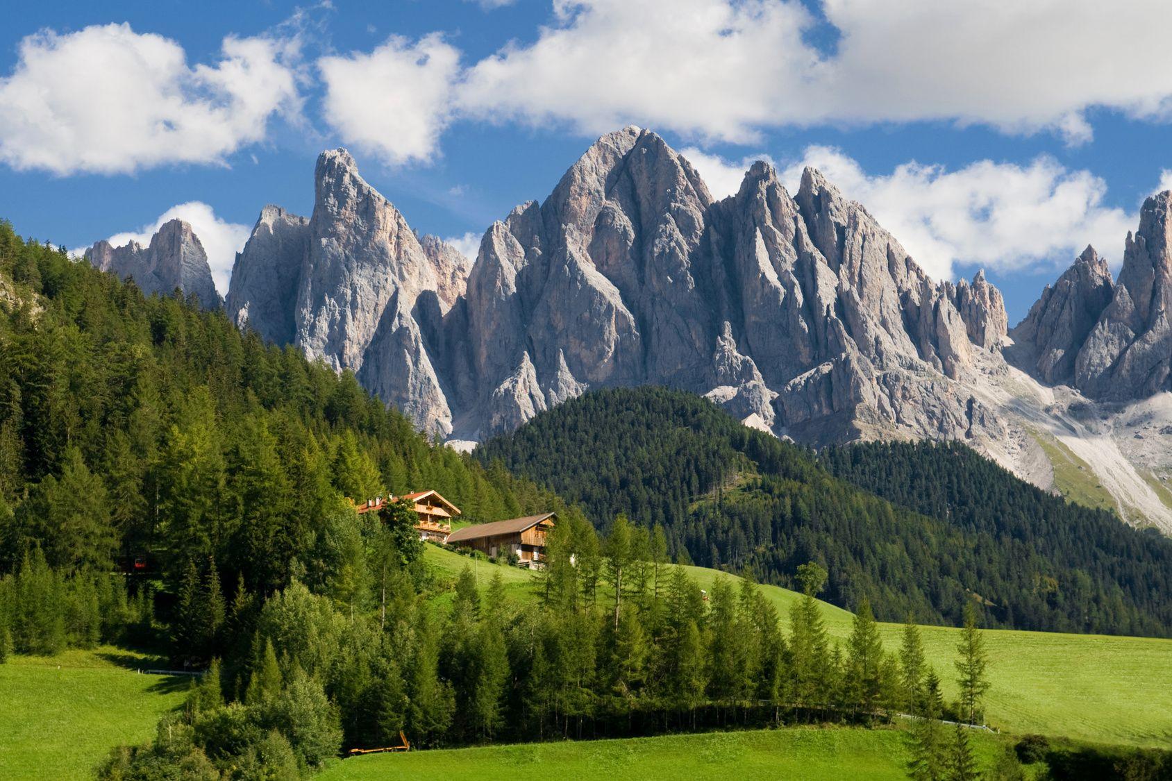 Trentino alto adige dolomiti trentino alto adige for Best view of dolomites