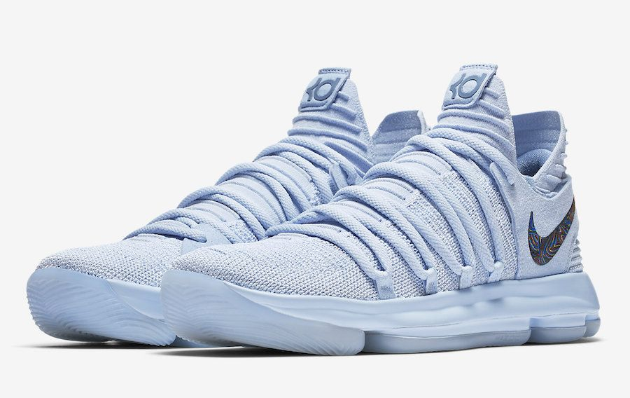Nike KD 10 Anniversary Faint Blue - Retro Shoes