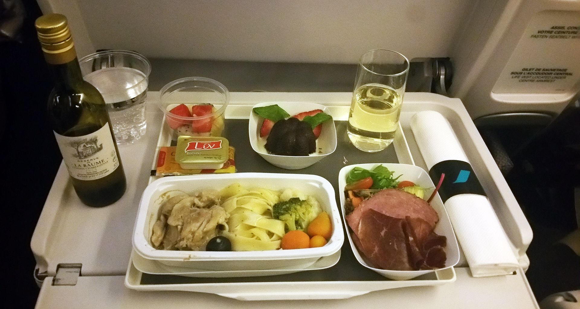 air france premium economy meal Airline food, Air france