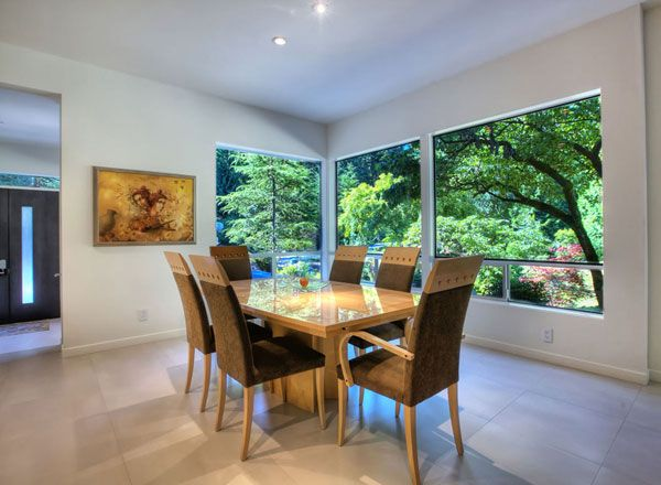 Enjoy breakfast with a view! - See more at: http://houseplans.housingzone.com/plan/9850/ #houseplan #homeplan #homedesign