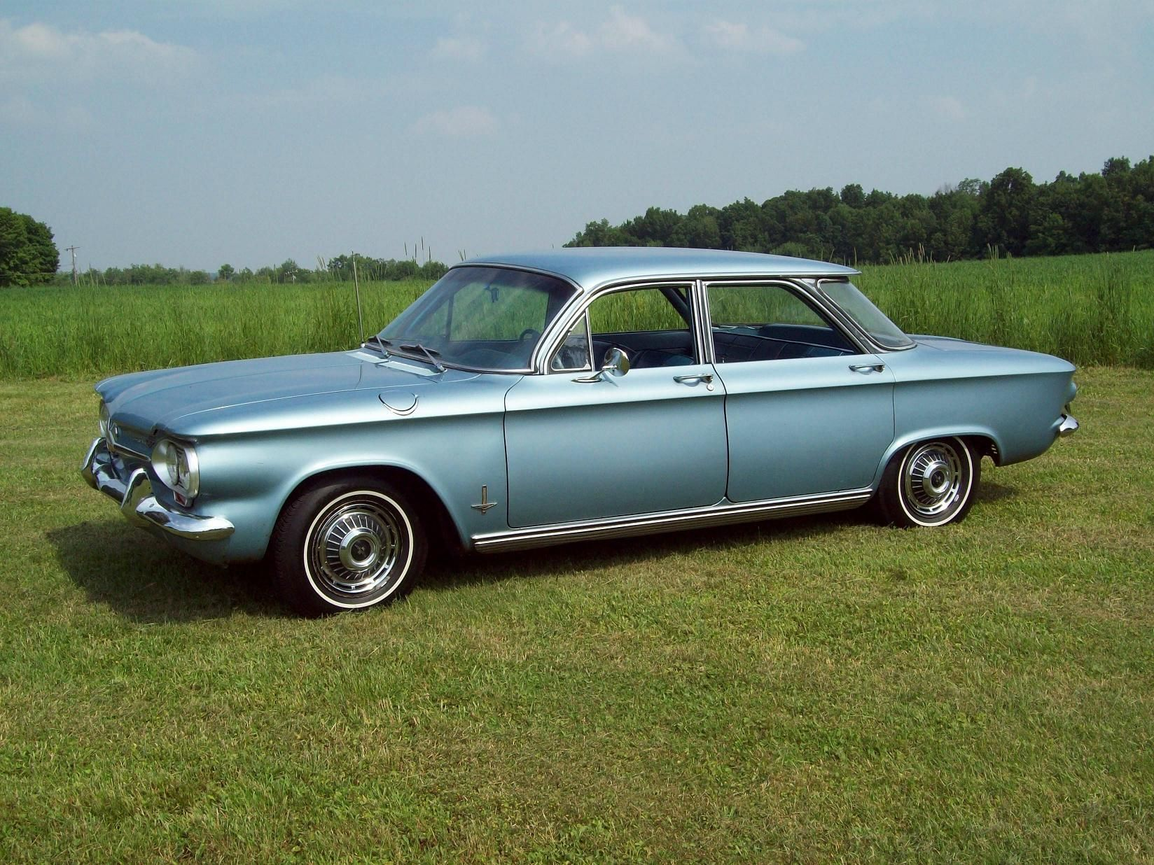 Corvair Monza Four Door Sedan The Car I Learned To Drive In