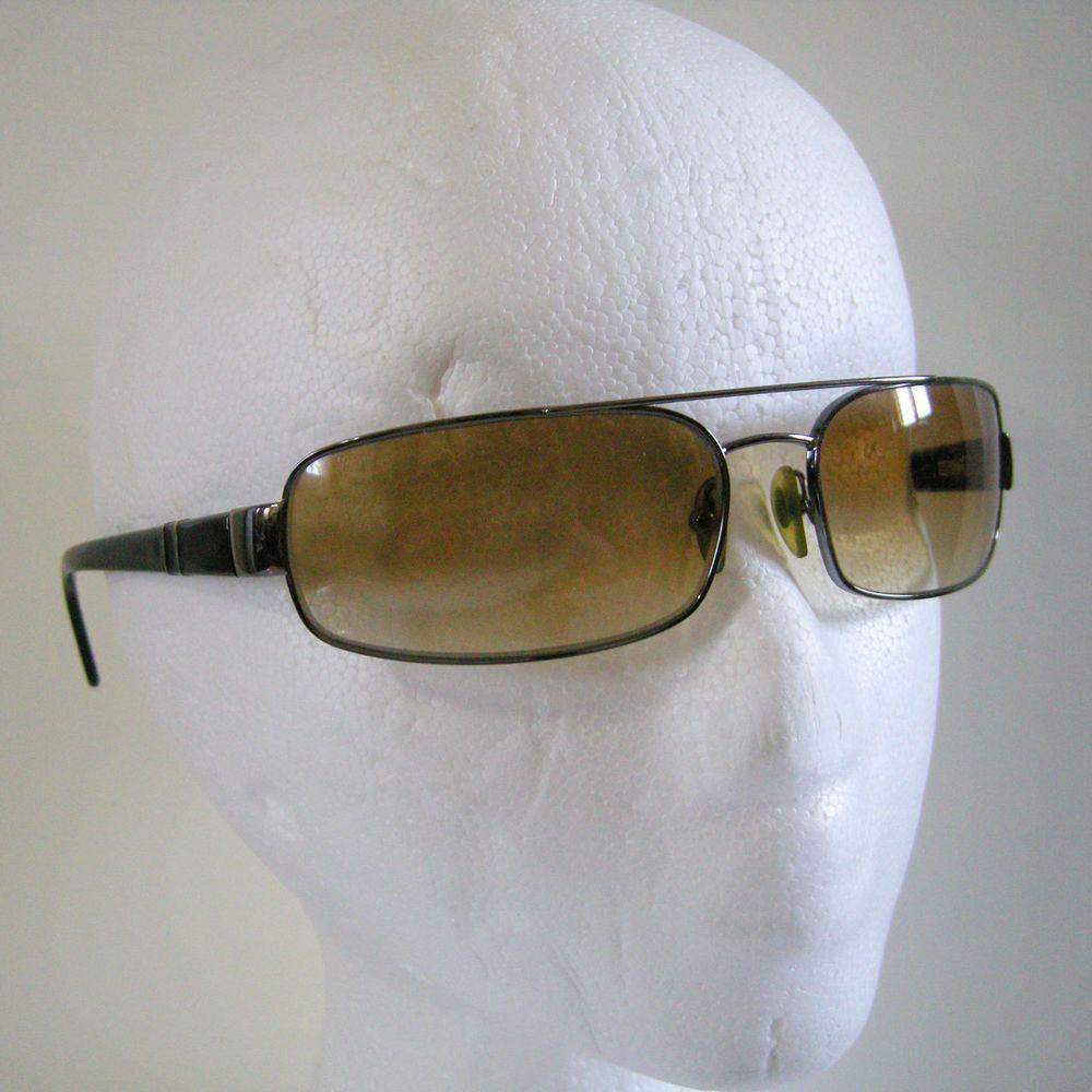 5e3cd1a231 Persol 2280-S Sunglasses 513 13 Gunmetal Black   Cream Lenses 63  16 125mm  Italy  Persol