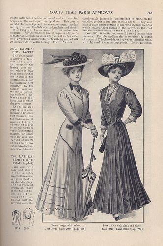 May 1908 The Delineator | VintageStitches.com