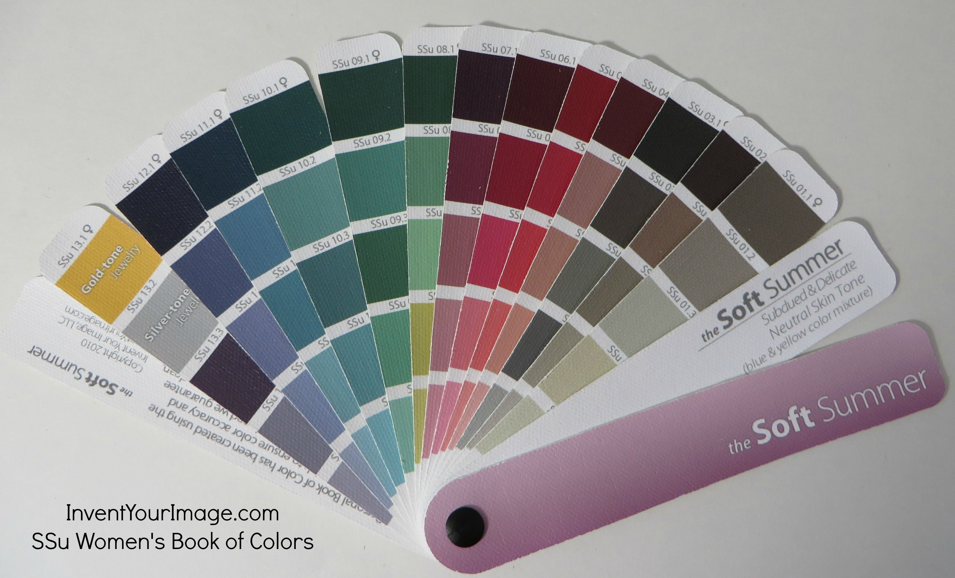 SSu Invent Your Image Womens Book of Colors | BELLEZA ...