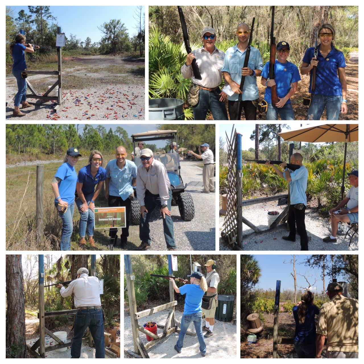 Compass Had A Blast At The Sarasota Clay Shoot Self Storage Self Storage Units The Unit