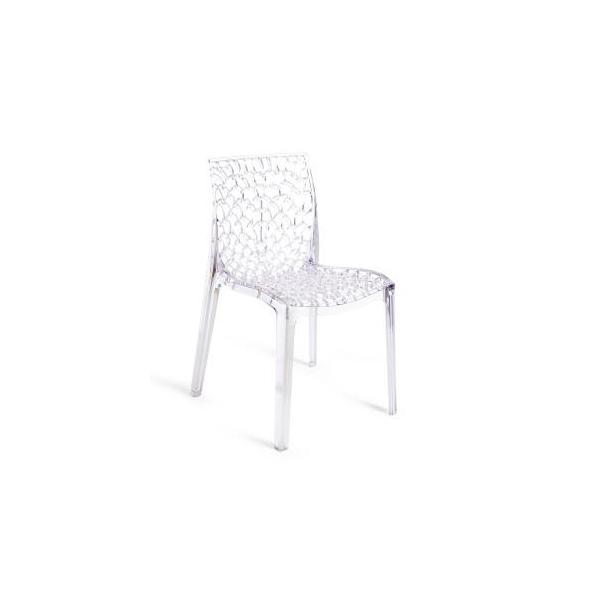Sedie eleganti in policarbonato modello Gruvyer C. Sedie robuste ...