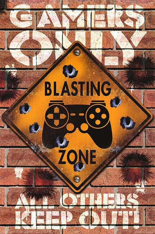 Gamers Only Poster Video Game Posters Poster Prints Video Game Print