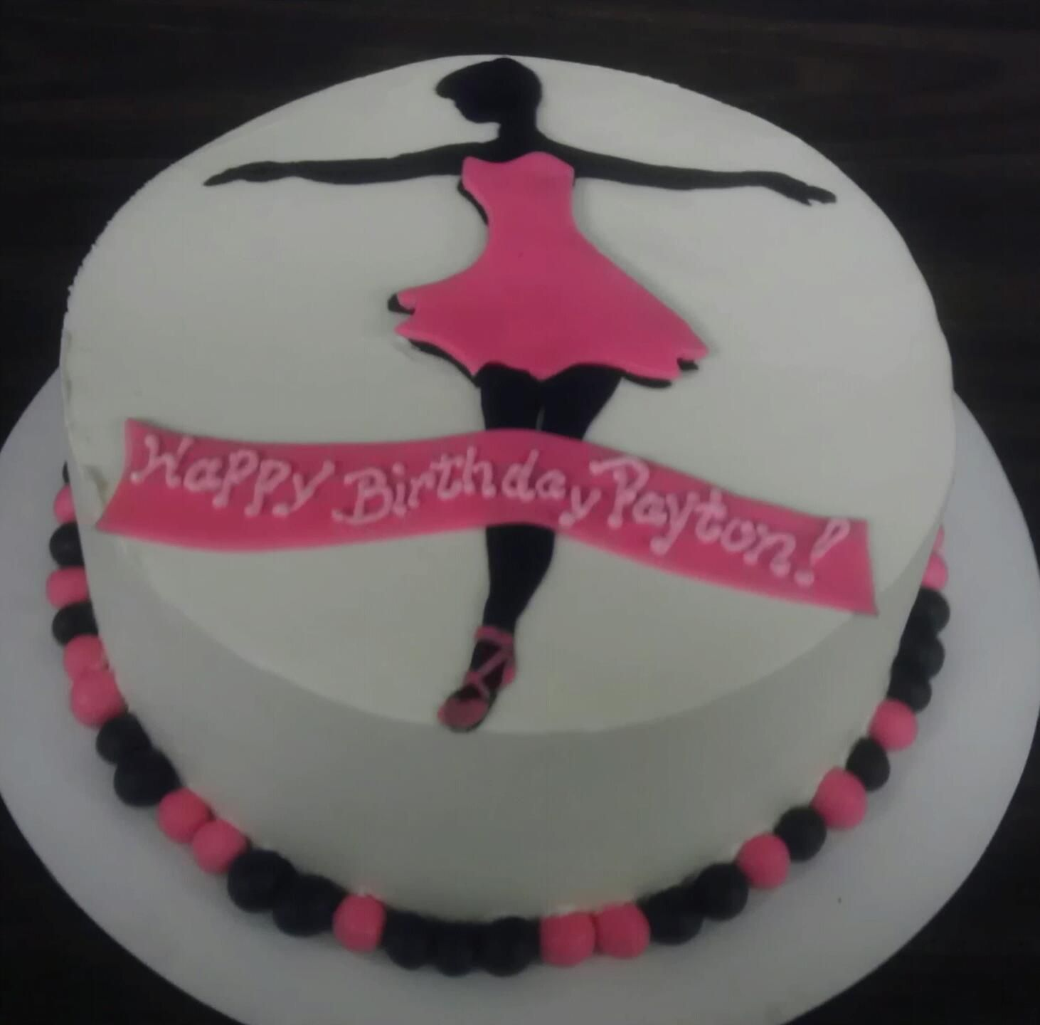 Ballerina Gluten Free Cake By Hag Atlanta GA