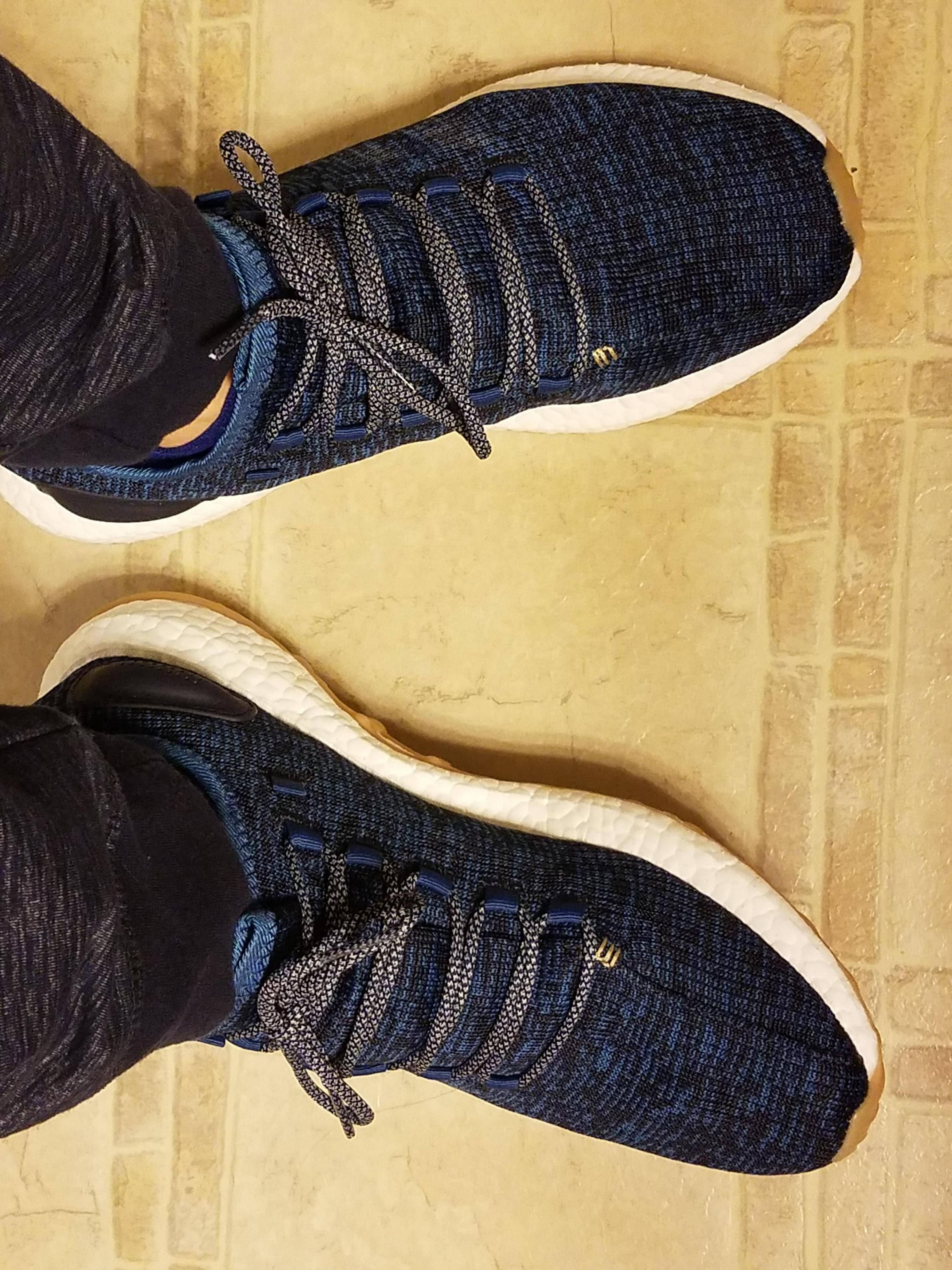 Pureboost Core Blue. Really like the laces they came with too.