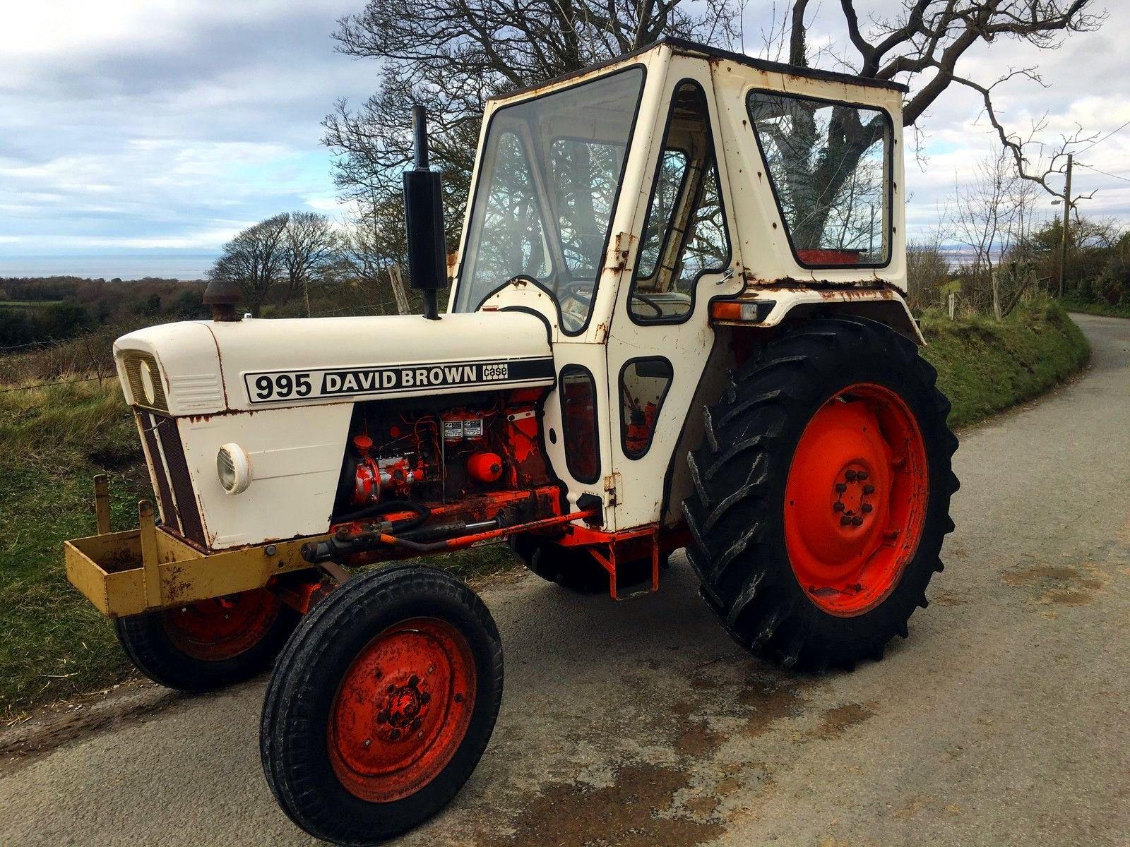 case david brown  tractor mania classic tractor