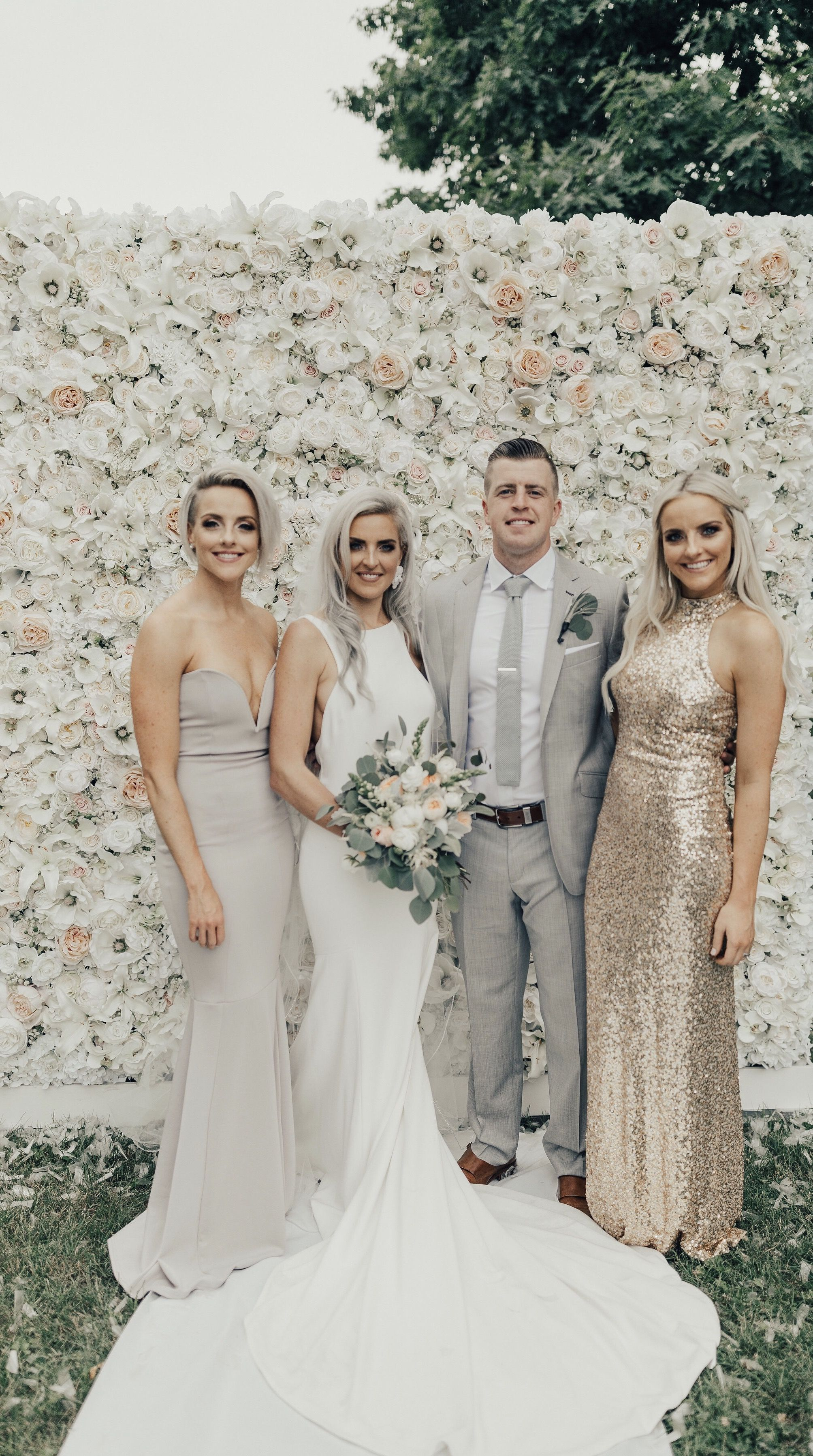 Threesistersonecloset Weddingday Siblings Bridal Party Summer