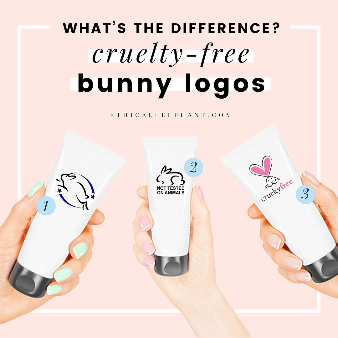 Not all crueltyfree bunny logos are the same choosing