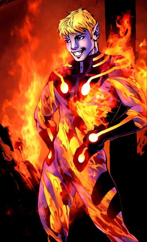 Relur (Earth-96099)   Human Torch   Human torch, Marvel