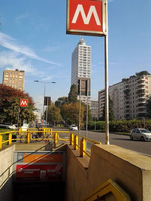 Na Janelinha porque eu quero ver tudo: Metrô de Milão - próximo as principais atrações