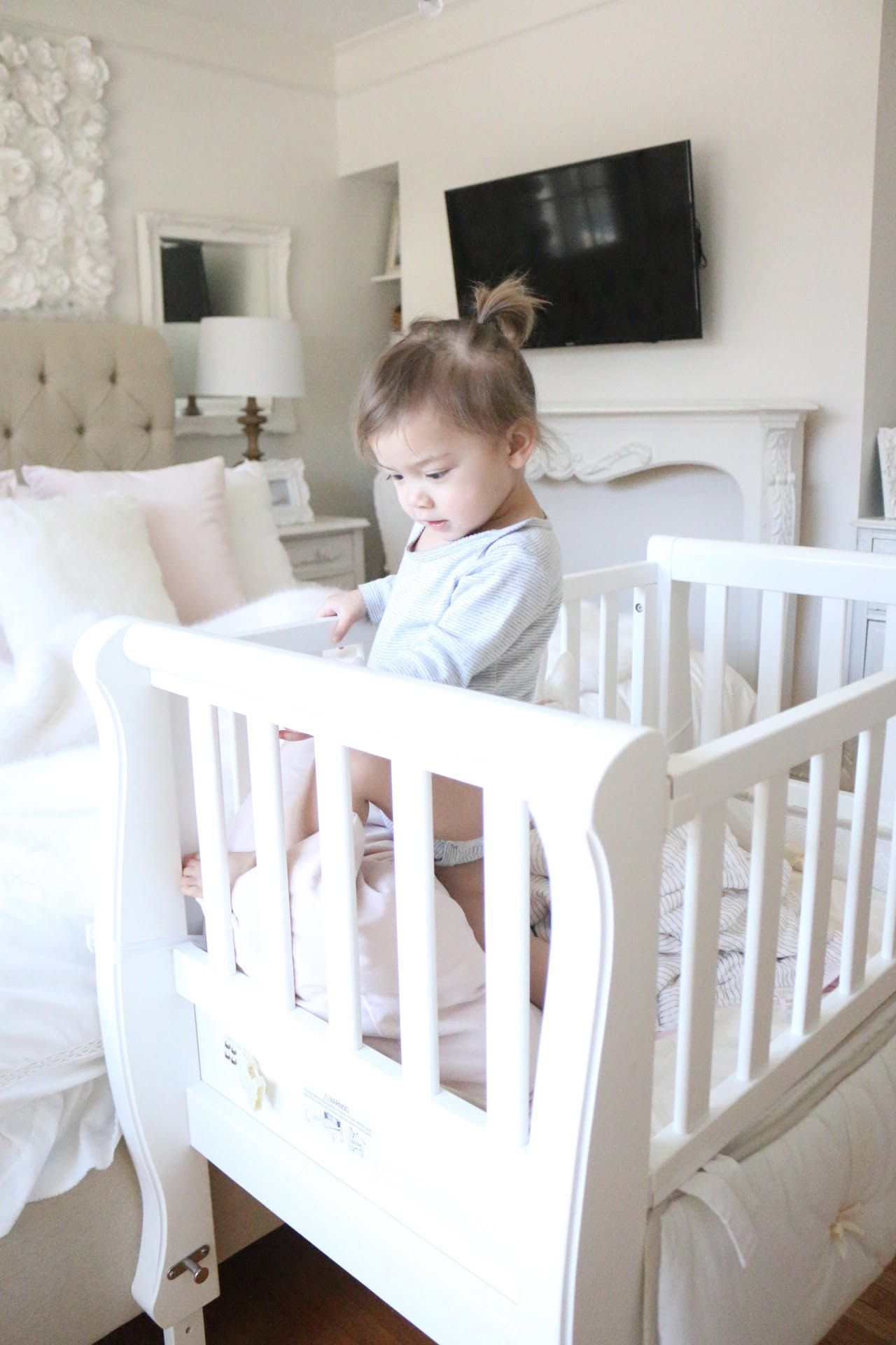 Most recommended crib for babies - Co Sleeper Best Crib Best Co Sleep Arms Reach Co