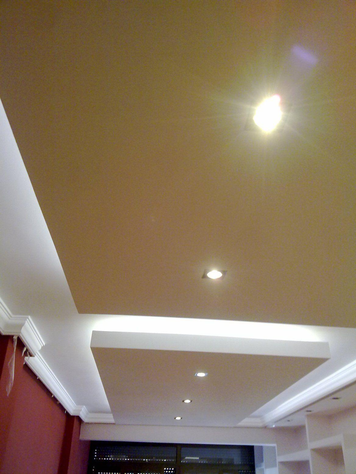 Fotos pladur y falso techo techo de dos niveles falso - Fotos de techos de pladur ...