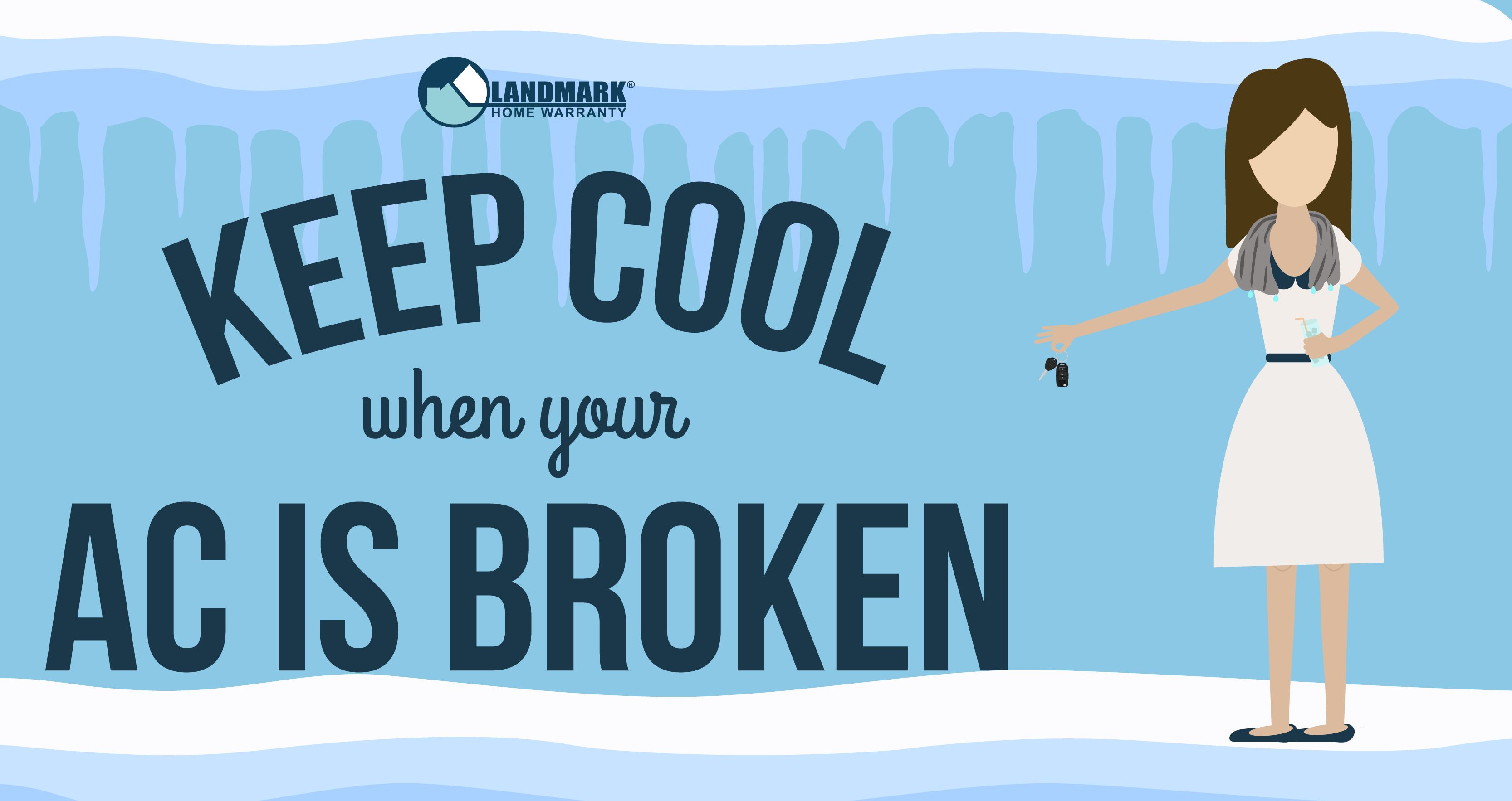 Keep Cool when your AC is Broken Broken air conditioner