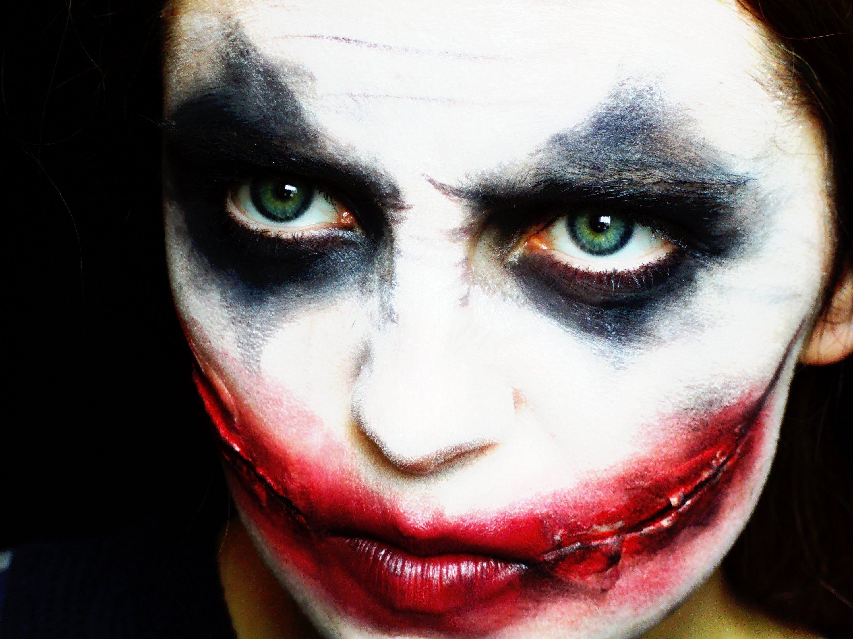 Halloween Joker Makeup Tutorial Halloween Halloween Makeup - Joker-makeup-tutorial