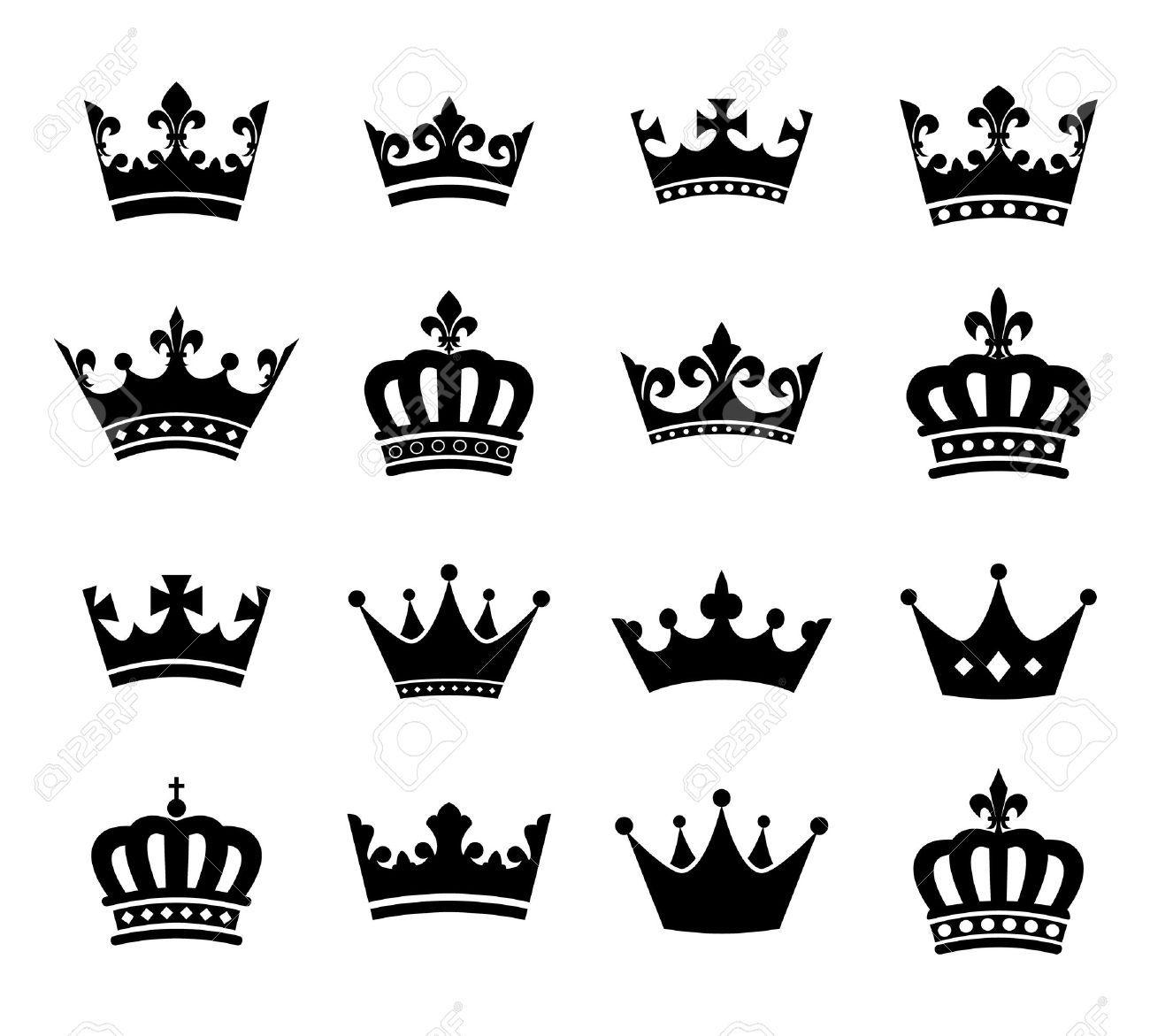 Image Result For Corona Princesa Silueta