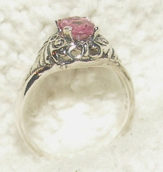Pink .80ct Spinel Ring