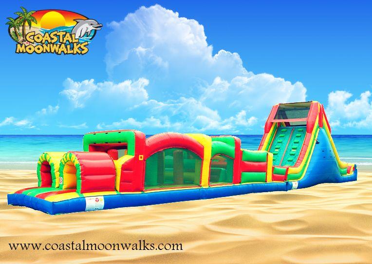 Jacksonville 72ft foot large obstacle course rental
