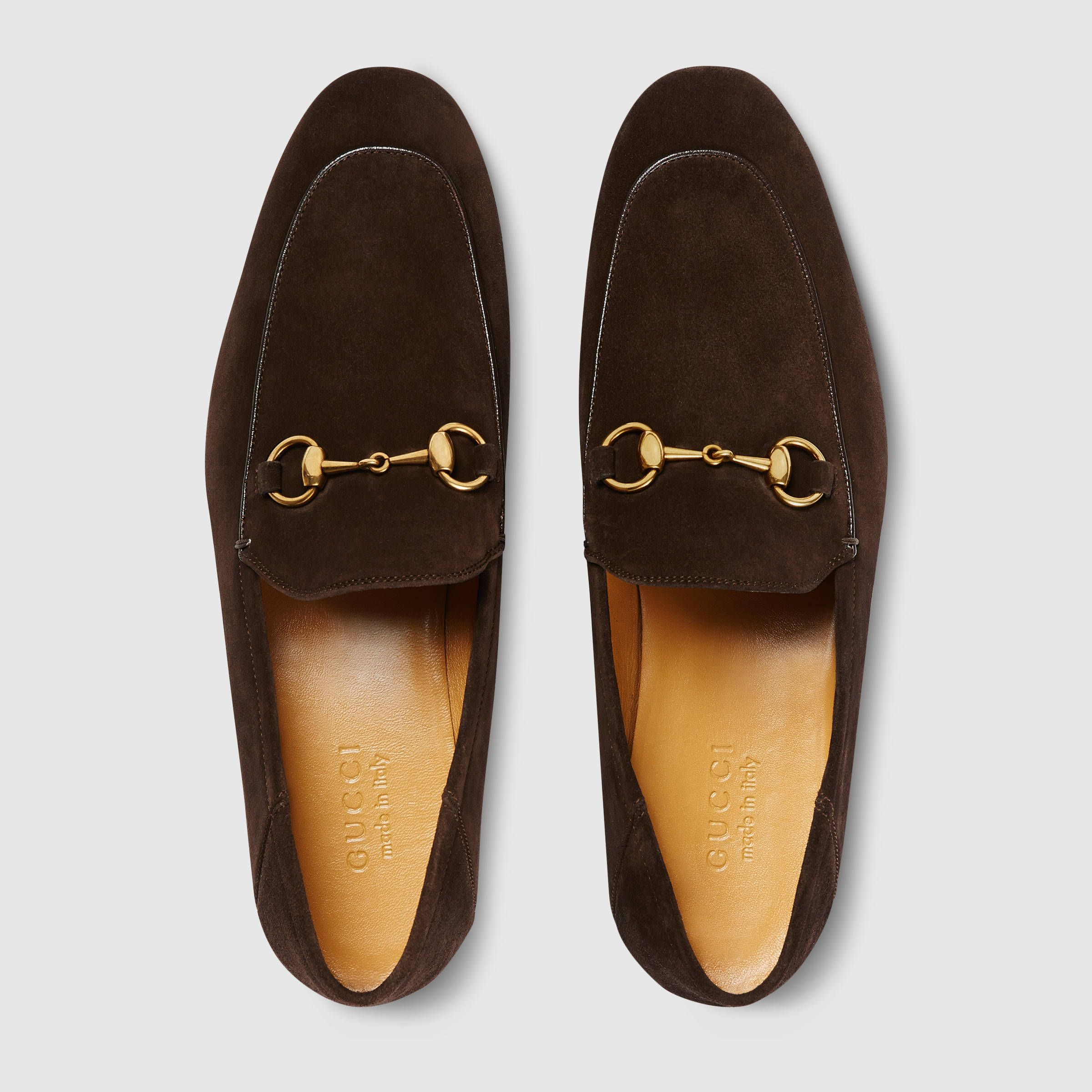 3cf485132c8 Gucci Suede Horsebit loafer Detail 3