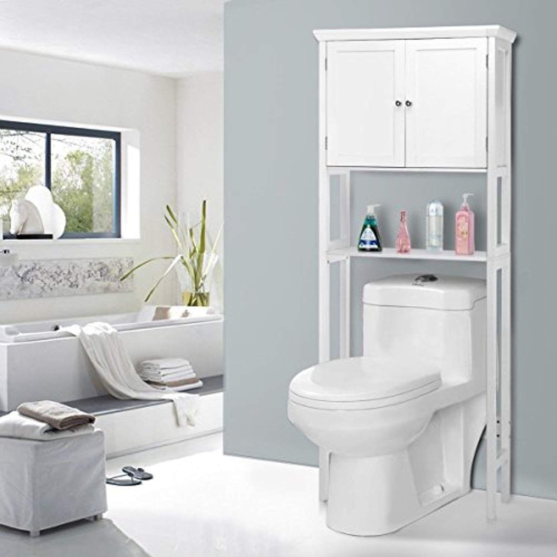 Ez Funshell Ez Line Bathroom Storage Cabinet White Click On The Image For Additional Details Modern Bathroom Cabinets Toilet Storage Wooden Storage Cabinet