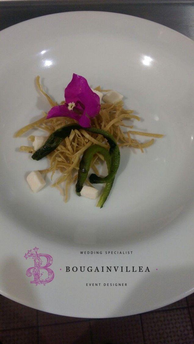 Ensalada Fina estilo Gourmet por www.bougainvillea... Bodas San Miguel de Allende