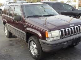 1995 Purple Jeep Grand Cherokee Purple Jeep Jeep Grand