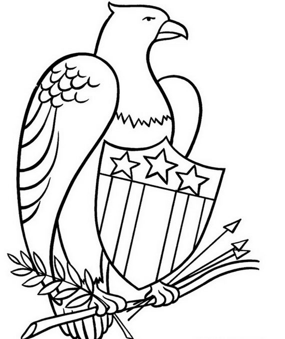 Independence Day Coloring Pages - July Fourth_04 American Flag Coloring  Page, Flag Coloring Pages, Coloring Pages
