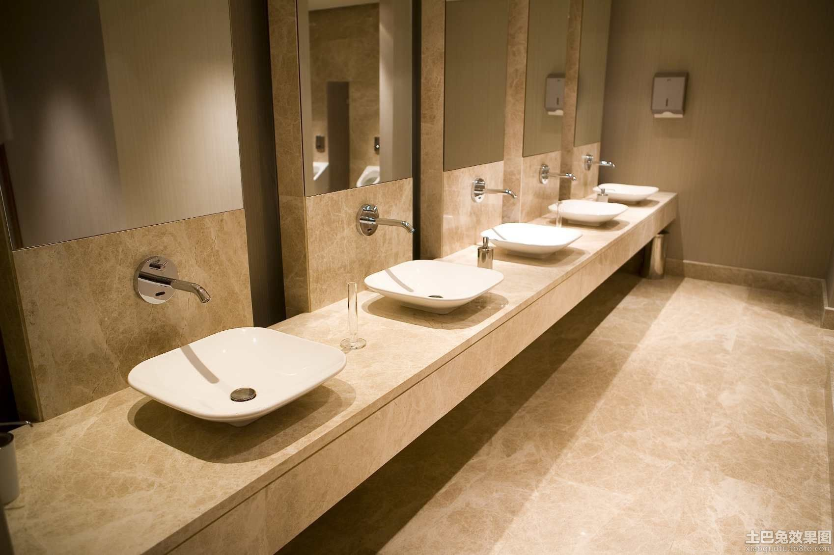 Commercial restroom design for Washroom interior design