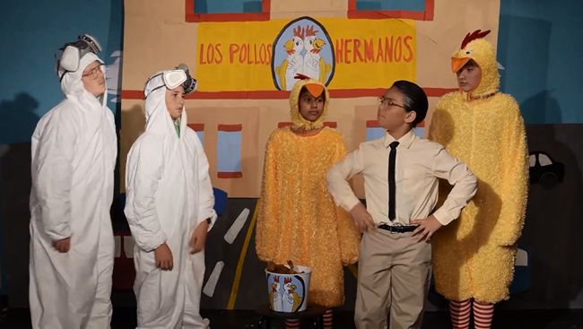 This middle school did a brilliant job of telling the 'Breaking Bad' story in the form of a musical.