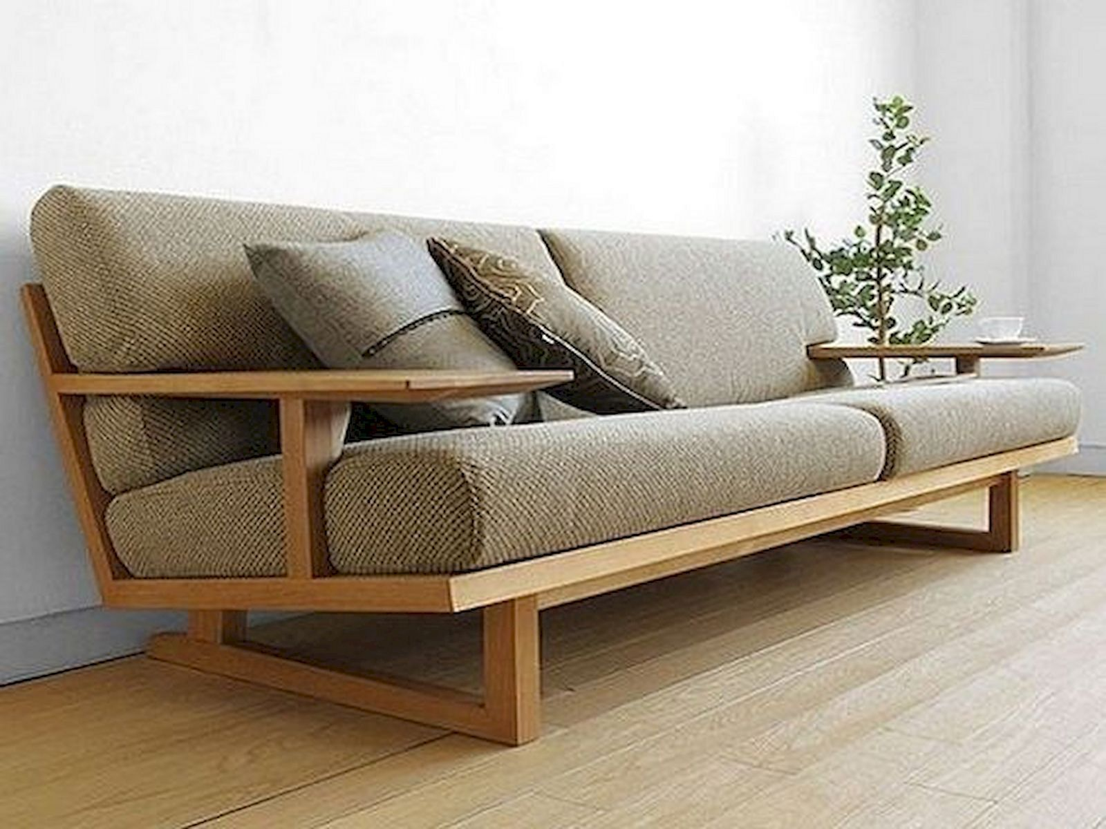 15 Wooden Sofa Ideas To Beautify Your Living Room Furniture
