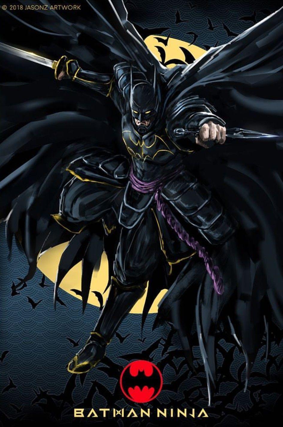 Batman Ninja Bruce Wayne Batman Artwork Batman Batman Ninja