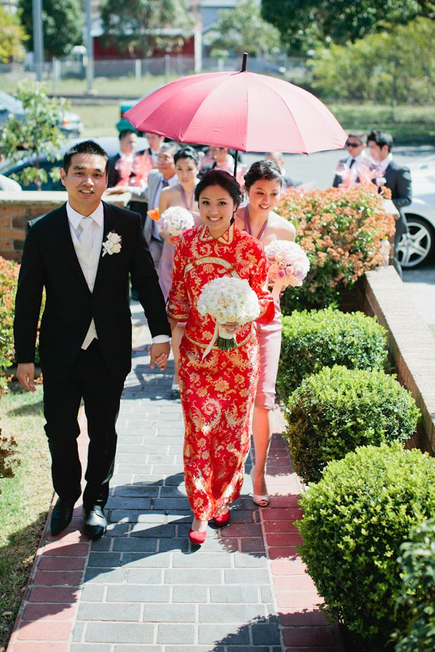 Asian style wedding